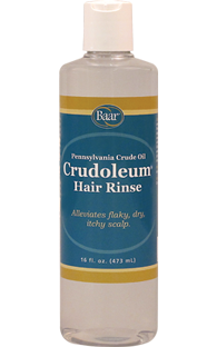 Crudoleum Pennsylvania Crude Oil Hair Rinse