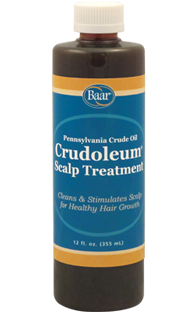 Crudoleum Pennsylvania Crude Oil Scalp Treatment
